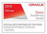 Oracle Excellence Award - 2014 Winner